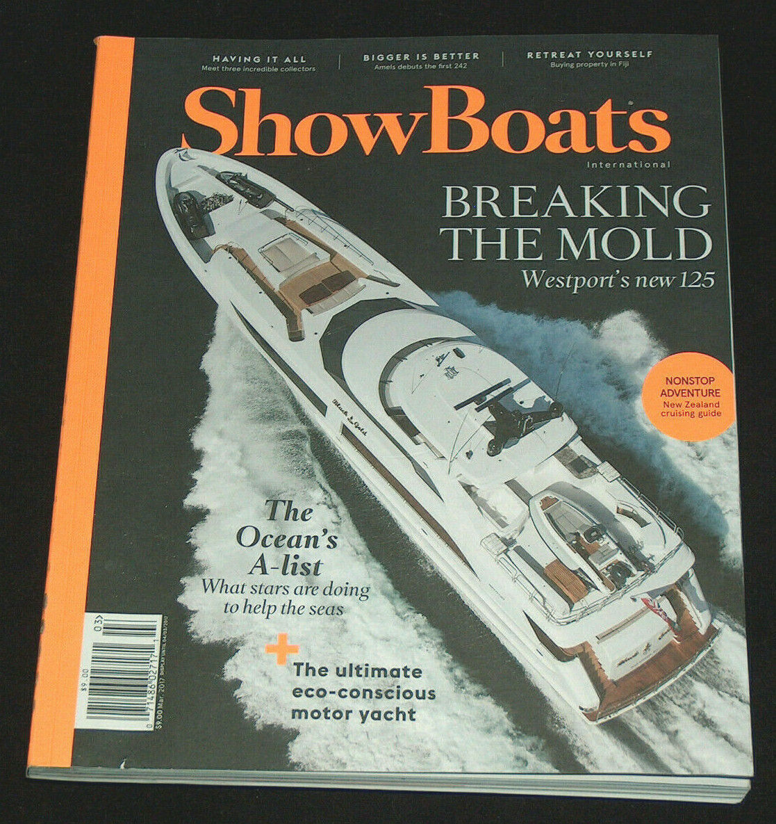 Primary image for ShowBoats International March 2017 Westport's New 125 Super Yachts Boats