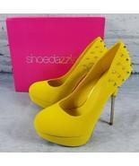 Shoedazzle Shoe Dazzle CANDICE Stilettos Heels Studded US Women Size 8 U... - $32.22