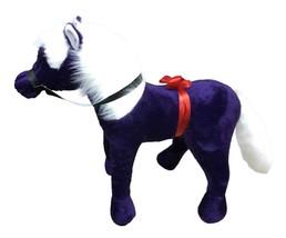 American Made Giant Stuffed Horse 3-feet tall 3-feet wide Dark Purple color - $79.95