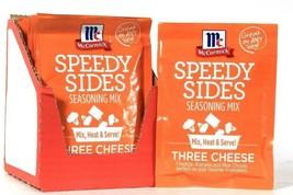 10 Count McCormick Speedy Sides Three Cheese Seasoning Mix Heat & Serve BB 11/20 - $27.99
