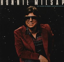 Ronnie Milsap Out Where The Bright Lights Are Glowing Vinyl Record Album - $12.99