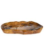 Large Heavy Handmade Wooden Bowl Irregular Natural Organic Oval Shape Ed... - $240.00