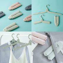 Travel Hangers Necessary Artifact Folding Portable Travel Hangers Hanger... - $18.22