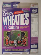 Empty Wheaties Box 1996 18oz Super Bowl Xxix Replays Steve Young [Z202c6] - $2.40