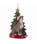 American Pit Bull Terrier w/Tree Ornament - $14.95
