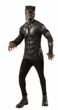 Rubies Marvel Schwarzer Panther Kostüm Top Maske Erwachsene Herren Hallo... - $26.24