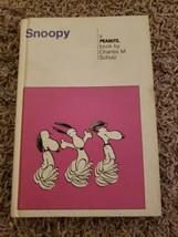Snoopy Peanuts August 1958 Hardback Vintage Charles Schulz Weekly Reader Book B - $6.98