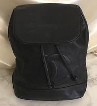 Auth CHANEL Vintage Black Chain One Shoulder Bag Caviar skin Logo Coco Z... - $1,067.22