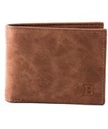 Mens Front Pocket Wallet, RFID Blocking Leather Minimalist Money Clip W... - $7.84