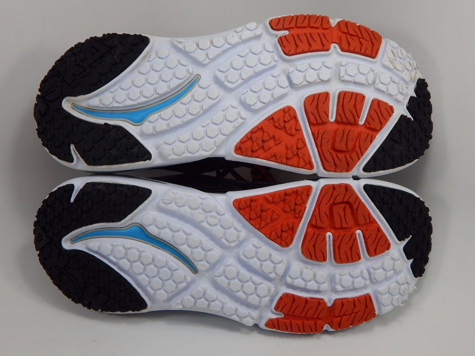 Hoka One One Bondi 4 Men's Running Shoes Size US 9 M (D) EU 42 2/3 Gray Red