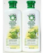 (2) Clairol Herbal Essences Naked 0% Paraben Shine Brilliance Conditione... - $29.69