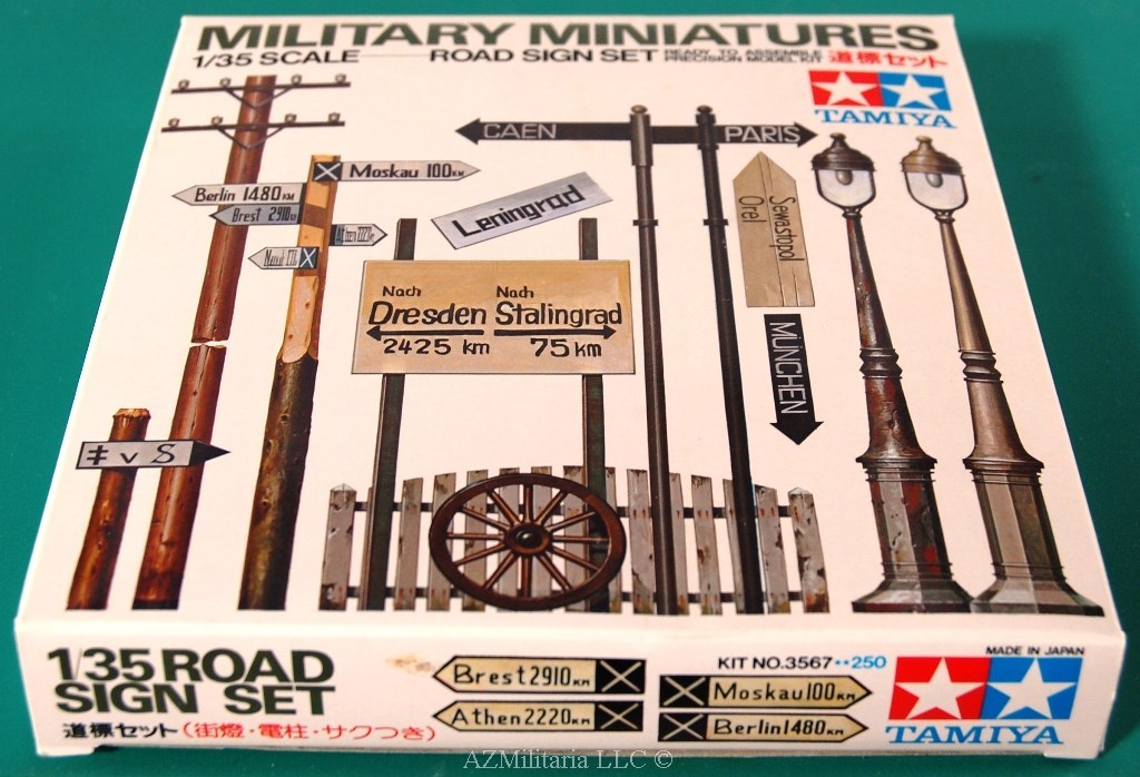 1/35 Road Sign Set Kit No 3567