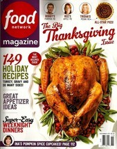 Food Network Magazine, November 2017, Holiday Recipes Thanksgiving Chris... - $2.62 CAD