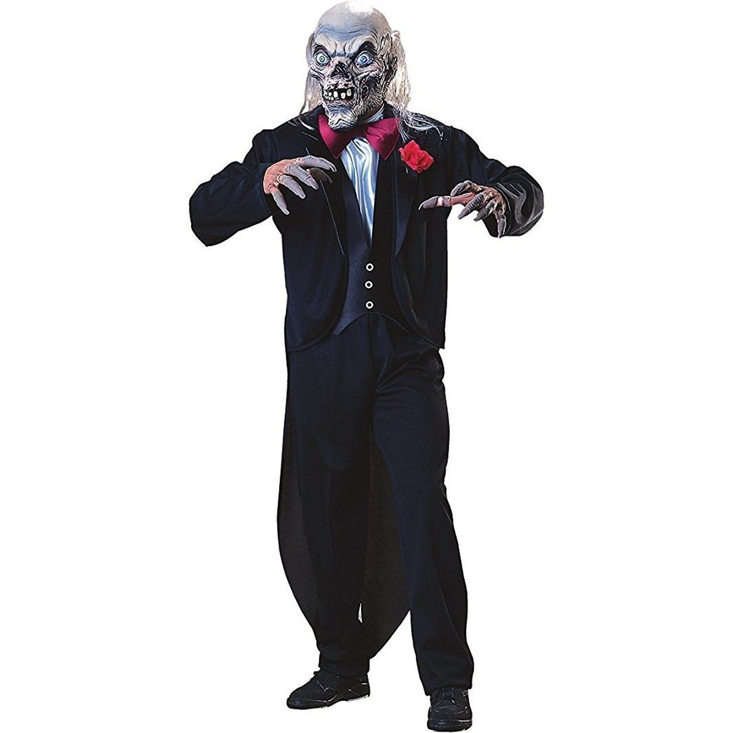 Tales from the Cryptkeeper Tuxedo Adult Halloween Costume Free Shipping image 1