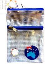 The Golf Pouch - Australian Map Flag - $224,96 MXN