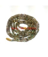 """Natural Labradorite Gemstone 3-4mm Rondelle Faceted Beads 16"""" Beaded Nec... - $14.48"""