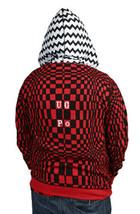 UGP Bajo Suelo Productos Bricolaje Hombre Rojo Con Sudadera con Cremallera Nwt image 2