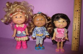 """Cabbage Patch 2005 6""""  5 1/2"""" Lil Little Sprouts Play Along CPK Doll Lot... - $32.00"""