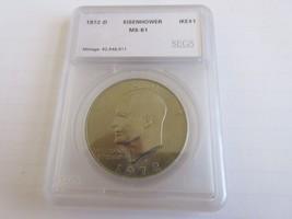 1972-D , Eisenhower Dollar , UC - $6.00