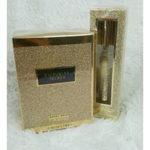 VICTORIA'S SECRET NEW ANGEL GOLD Perfume Spray1.7 floz 50ML & Rollerball... - $41.14