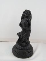 Vintage Coco Lava Figurine - Hula Beauty with double base - $39.00