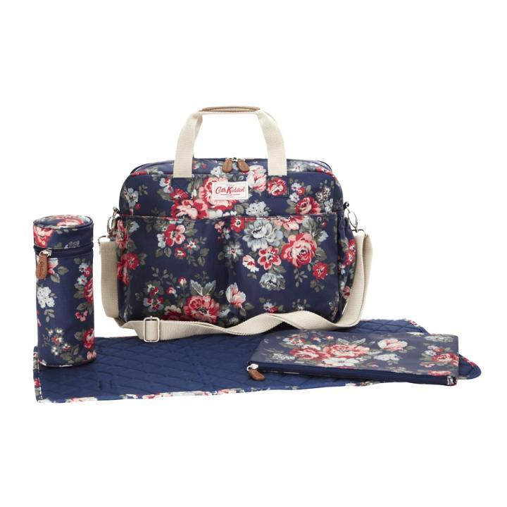 Cath Kidston Cath Kidston100Authentic Baby Goods DOUBLE POCKET NAPPY BAG PEMBRID