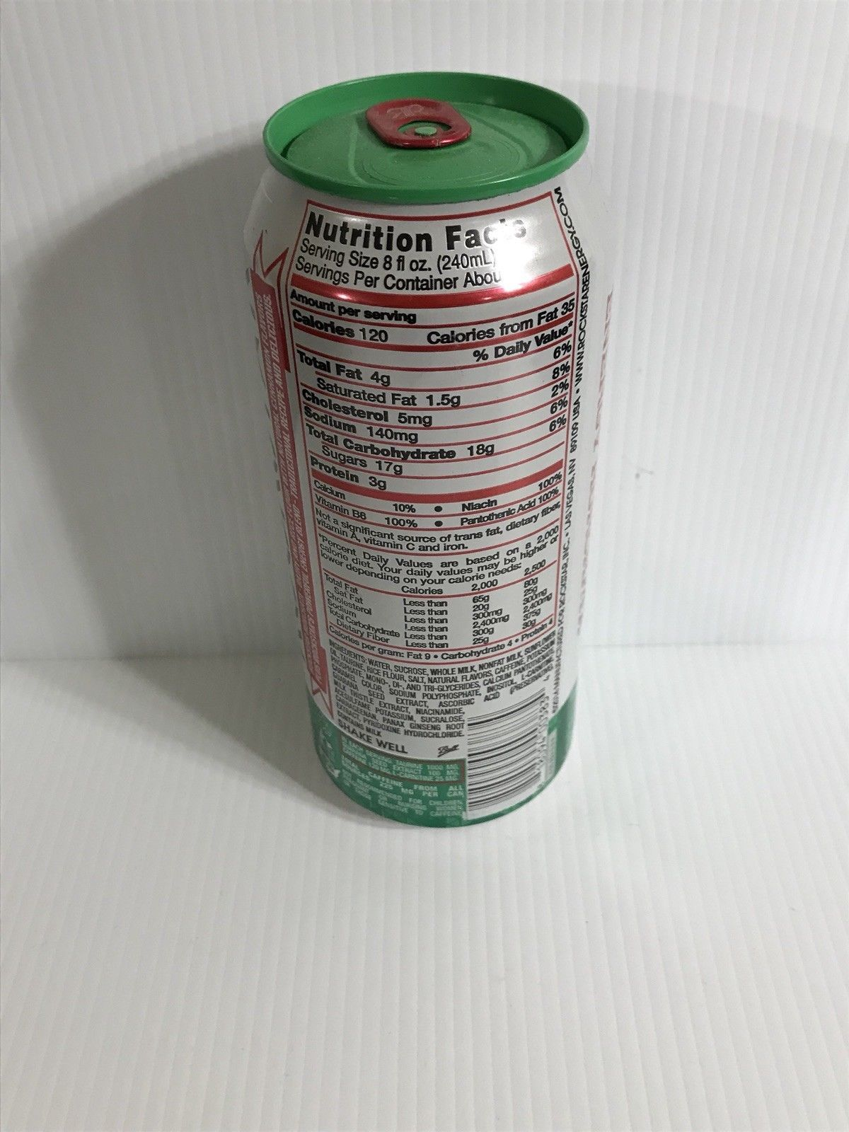 Rockstar Energy Drink Horchata Rare Full Collectors Can