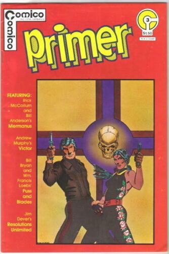 Comico Primer Comic Book #3 Comico 1982 VERY FINE-