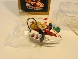 Santa's snow getter mobile flickering light magic Hallmark Keepsake Orna... - $32.07
