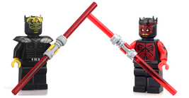 set Darth Maul Savage Opress Star Wars Minifigures Custom Minifig Buildi... - $6.99