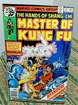 Marvel Master Of Kung Fu Comic Issue 74 March 1979 - £2.37 GBP
