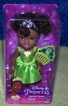 "Disney Princess Petite Tiana 6"" Doll & Comb New - $16.50"