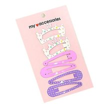 Set Of 5 Girls Toddler Hair Clips Cute Hair Decorations Baby, No.5 - $16.43