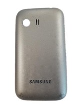 OEM Silver Battery Door Back Cover For Samsung Galaxy Y S5360 S5363 S536... - $4.74