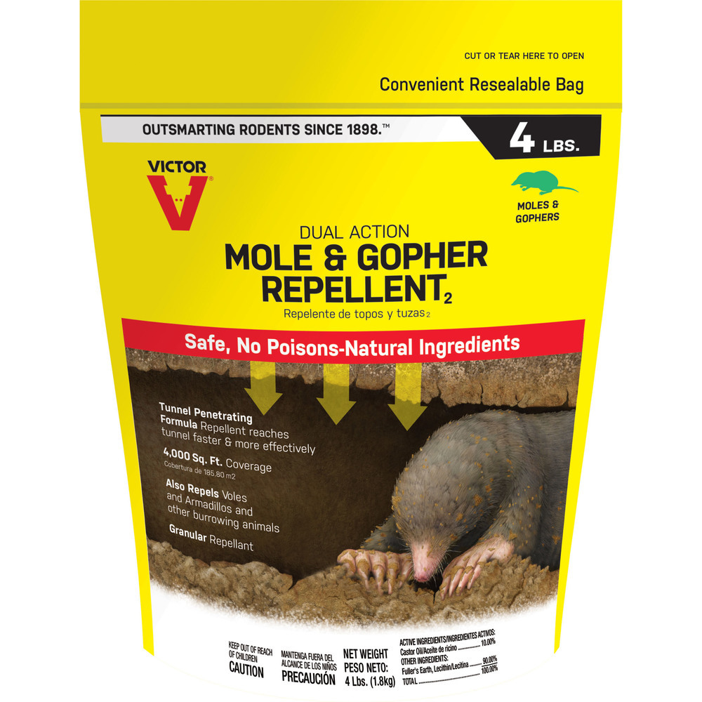Primary image for Senoret Mole and Gopher Granular Repellent 4 Lb 050624700114