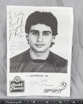 Vintage Pittsburgh Spirit Joe Papaleo Soccer Goalie Autographed 5x7 B&W ajd - $9.89