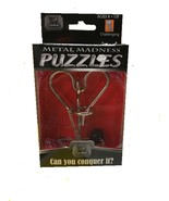 METAL MADNESS PUZZLES. - CAN YOU CONQUER IT? - $11.23