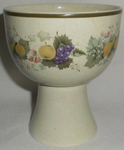 ROYAL DOULTON Lambethware HARVEST GARLAND PATTERN 10 oz China Goblet ENG... - $19.79