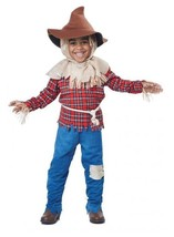 Harvest Time Scarecrow Child's Costume - Toddler - $18.95