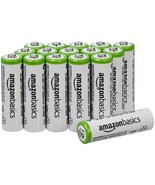AmazonBasics AA Rechargeable Batteries (16-Pack) - Packaging May Vary  - $40.19