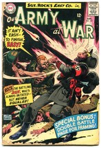 OUR ARMY AT WAR #157 1965-D.C. WAR SILVER-AGE-SGT. ROCK- g - $18.62