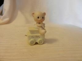 Precious Moments May Your Birthday Be Warm Bear Original 1985 #15938 Figurine - $14.85