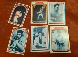 ELVIS TRADING CARDS FACTS NO.  22  26  27  28  37  36