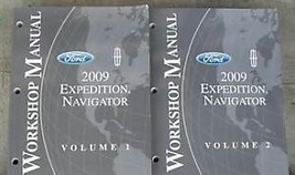 2009 Ford Expedition & Lincoln Navigator Réparation Service Atelier Manu... - $27.67