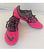 Nike Rival S Racing Shoes Size 7 Multi Use Track Trainers Pink Black Lac... - $34.65