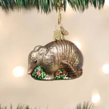 Old World Christmas Armadillo Glass Christmas Ornament 12369 - $10.88