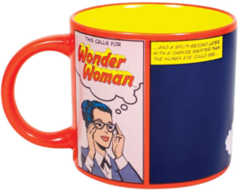 WONDER WOMAN Mug Heat Activated Transforming Coffee Mug UFO Rescue Diana Prince  image 2