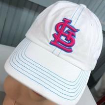 St. Louis Cardinals Pink Logo Strapback Baseball Cap Hat - $13.75