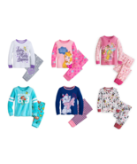 Disney Store PJ Pals Girls Pajamas Princess Ariel Aurora Marie Tinker Be... - $44.95