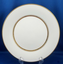 "Noritake Gloria Salad Luncheon Plate White with Gold 8"" 6526 - $9.90"